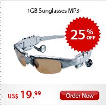 1GB Sunglasses MP3