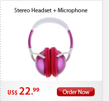 Stereo Headset+Microphone