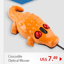 Crocodile Wired Optical Mouse