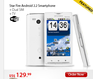 Star Fire Android 2.2 Smartphone
