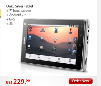 Ouku Silver Tablet