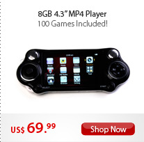 "8GB 4.3"" MP4 Player"