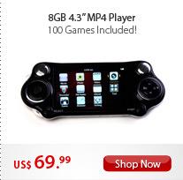 "8GB 4.3"" MP4 Player"