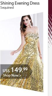 Shining Evening Dress