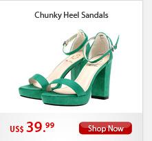 Chunky Heel Sandals