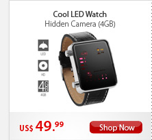 Cool LED Watch