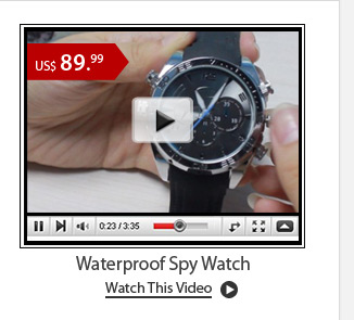 Waterproof Spy Watch