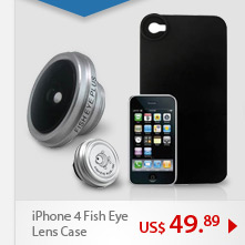 iPhone 4 Fish Eye Lens Case