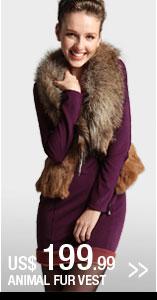 Animal Fur Vest