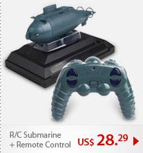 R/C Submarine + Remote Control
