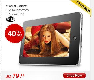 ePad 3G Tablet