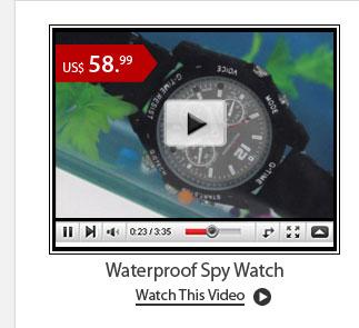 Waterproof Spy Watch