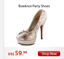 Bowknot Party Shoes