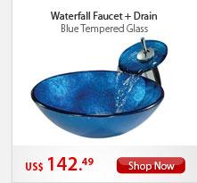 Waterfall Faucet+Drain
