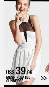 Mesh Pleated Sundress