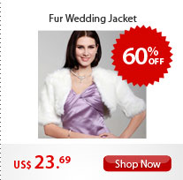 Fur Wedding Jacket