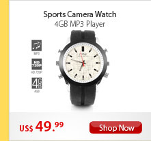 Sports Camera Watch