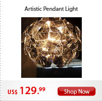 Artistic Pendant Light