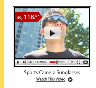 Sports Camera Sunglasses