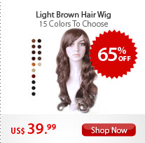 Light Brown Hair Wig