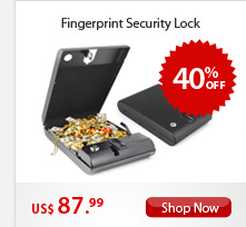 Fingerprint Security Lock