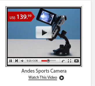 Andes Sports Camera