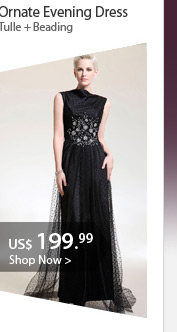 Ornate Evening Dress