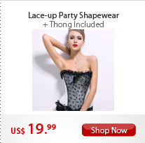 Lace-up Party Shapewear