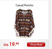 Casual Poncho