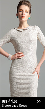 Sleeve Lace Dress