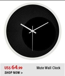 Mute Wall Clock