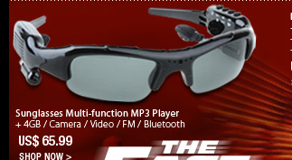 Sunglasses Multi-function MP3 Player