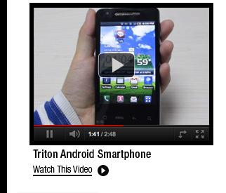Triton Android Smartphone