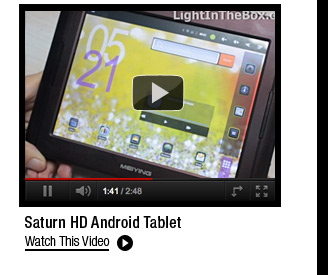 Saturn HD Android Tablet