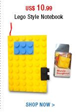 Lego Style Notebook
