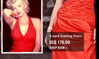V-neck Evening Dress
