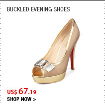 Buckled Evening Shoes