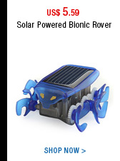 Solar Powered Bionic Rover