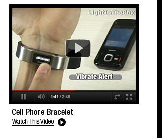 Cell Phone Bracelet