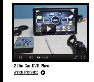 2 Din Car DVD Player