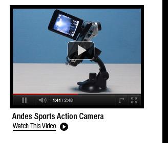 Andes Sports Action Camera