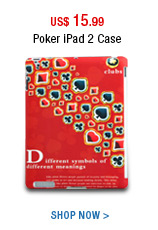 Poker iPad 2 Case