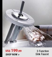 3 Function Sink Faucet