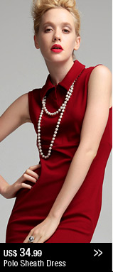 Polo Sheath Dress