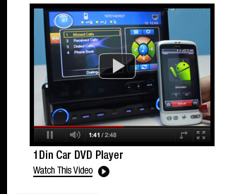 1Din Car DVD Player