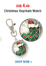 Christmas Keychain Watch