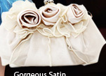 Gorgeous Satin Handbag