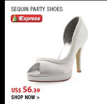 Sequin Party Shoes