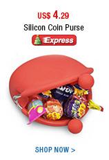 Silicon Coin Purse