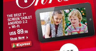 "The BEST 7"" Screen Tablet"